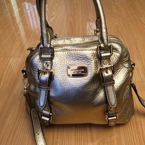 Gold Michael kors Hand bag